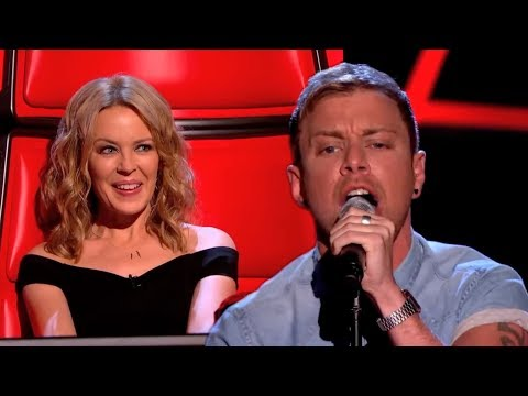 Lee Glasson performs Cant Get You Out Of My Head  The Voice UK 2014: Blind Auditions 1  BBC One