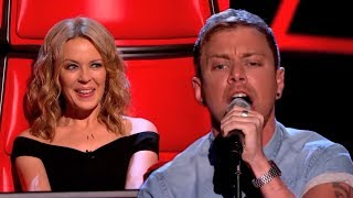 Lee Glasson performs Cant Get You Out Of My Head - The Voice UK 2014: Blind Auditions 1 - BBC One