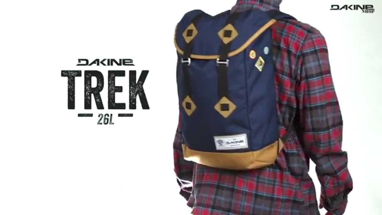 The Dakine Trek 26L Street Outdoor Laptop Rucksack - YouTube