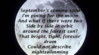 R.E.M - Nightswimming.. LYRICS