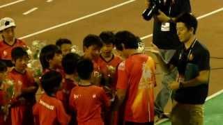 2013年9月21日名古屋グランパス-FC東京in瑞穂陸上競技場 試合...
