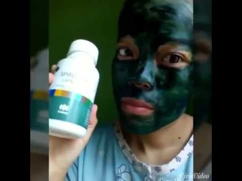 Review Masker Spirulina (Cewek)