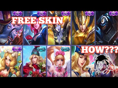 GET FREE SKIN BY DOING THIS | MOBILE LEGENDS FREE SKIN