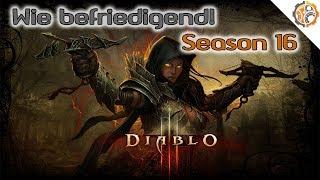 Wie befriedigend! - Diablo III - Season 16 - Deamonhunter Dämonenjäger