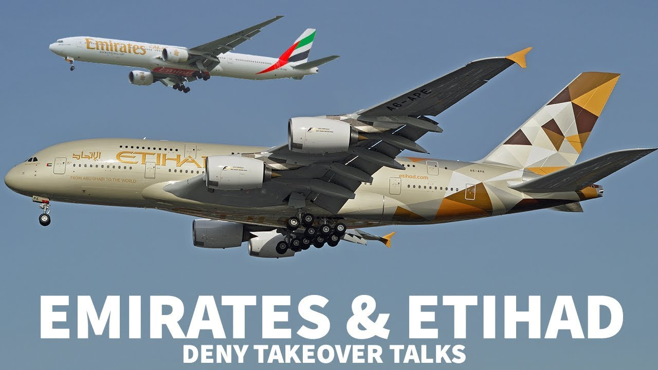 Emirates & Etihad Deny Merger Rumours