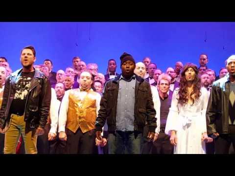 Broadway Christmas Mash Up, Christmas 2016, Gay Men's Chorus San Diego