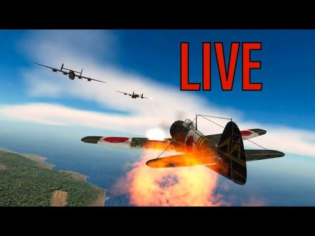 Gunship Sequel: WW2 - HUGE G4M1 Betty Formation - Wings of Duty