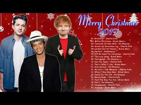 รวมเพลงสากลเทพๆBruno Mars, Charlie Puth, Ed Sheeran Christmas Songs 2019
