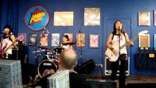 Shonen Knife Twist Barbie Ameoba Records San Francisco 9/12/10