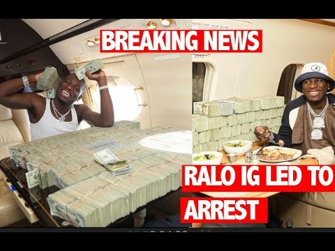 Feds Claim They Found Over $1 Million Of Loud On Ralo On Jet, Say His Instagram Led To His Downfall