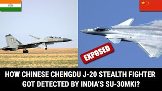 HOW CHINESE CHENGDU J-20 STEALTH FIGHTER GOT DETECTED BY INDIA'S SU-30MKI? thumbnail