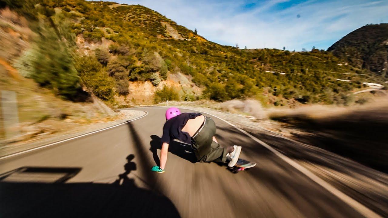 Northern California's Downhill Skatepark