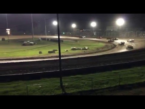 Cottage Grove Speedway Main Event April 16 2016 Full