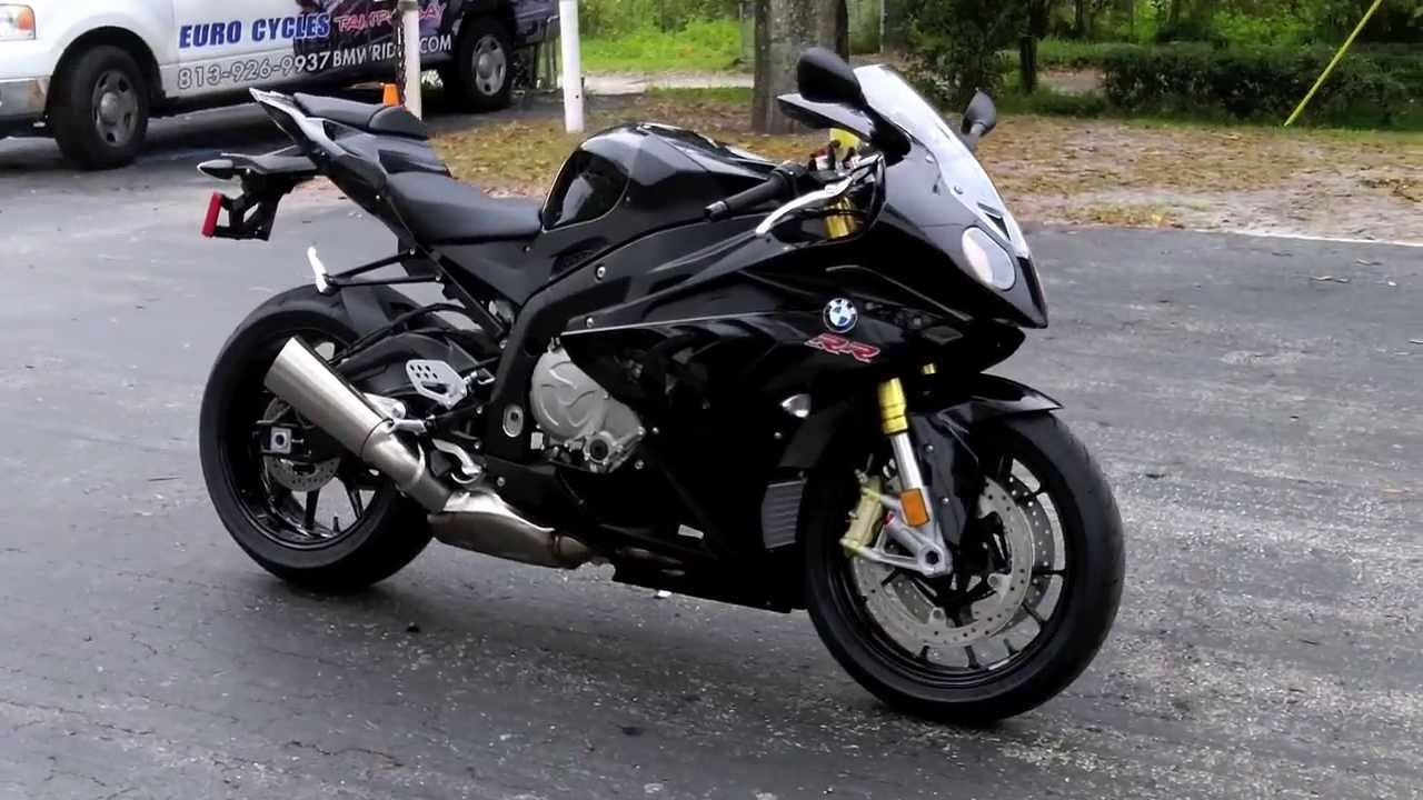 2014 BMW S1000RR Black At Euro Cycles Of Tampa Bay