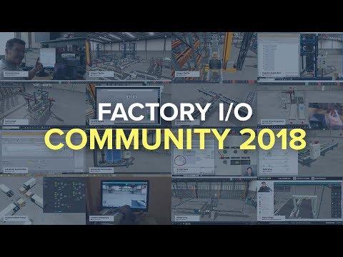 Factory I/O Community Showreel 2018