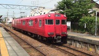 本線から支線へ、名鉄6000系3次車6014F 15.6.10