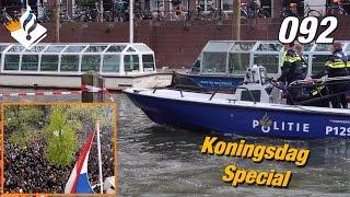Koningsdag in Utrecht stad. Achter de schermen bij de politie.