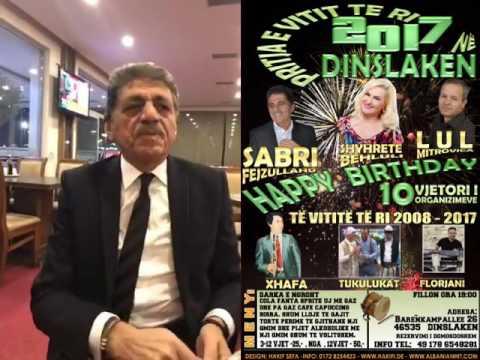 Gezuar Vitin e Ri 2017 ne Dinslaken me Shyhrente Behluli, Sabri Fejzullahu