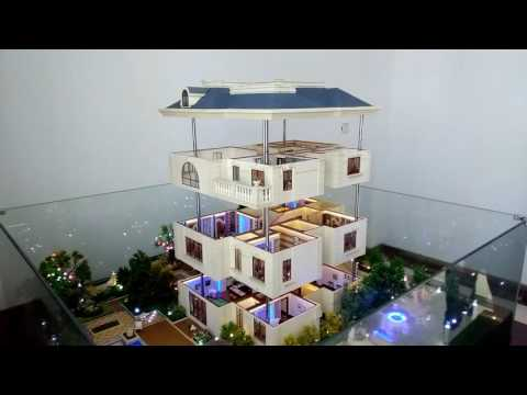 building model design   /Qingdao huaye model  lct /custom models/Elevation models