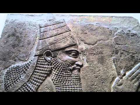 Tiglath-pileser III the King Nimrud central Palace Assyrian 728 BC British Museum London