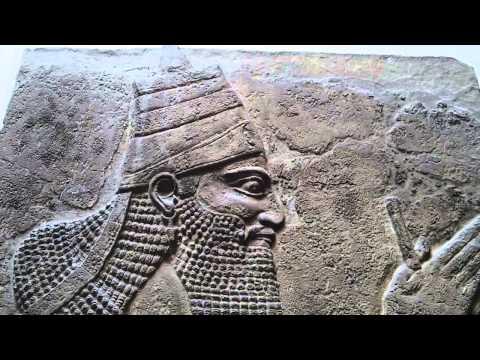Tiglath-pileser III the King Nimrud central Palace Assyrian 728 BC British Museum London
