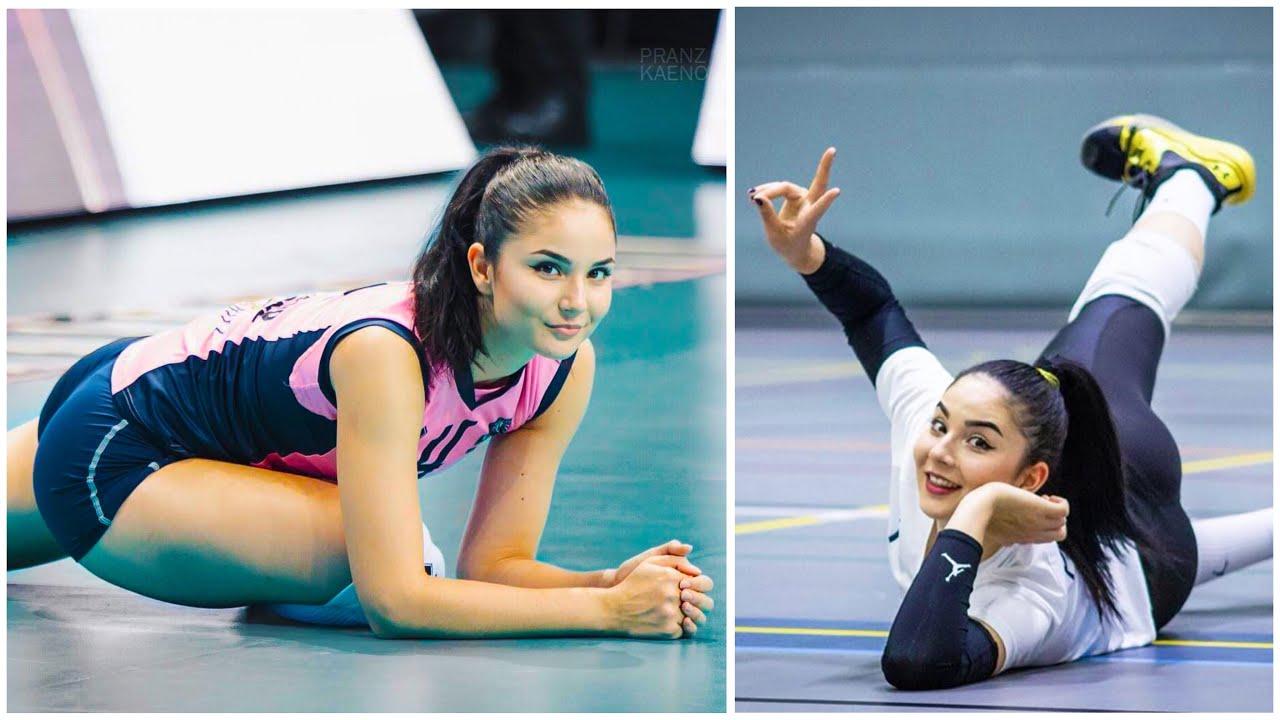Beautiful and Talented Volleyball Setter   Klara Peric (HD)