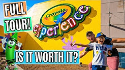 NEW Crayola Experience! FULL TOUR AND REVIEW! | Chandler Fashion Center