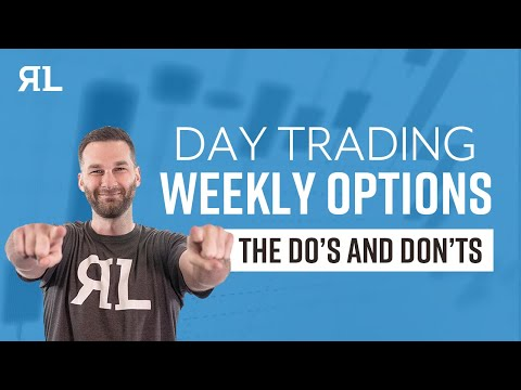 Day trade weekly options