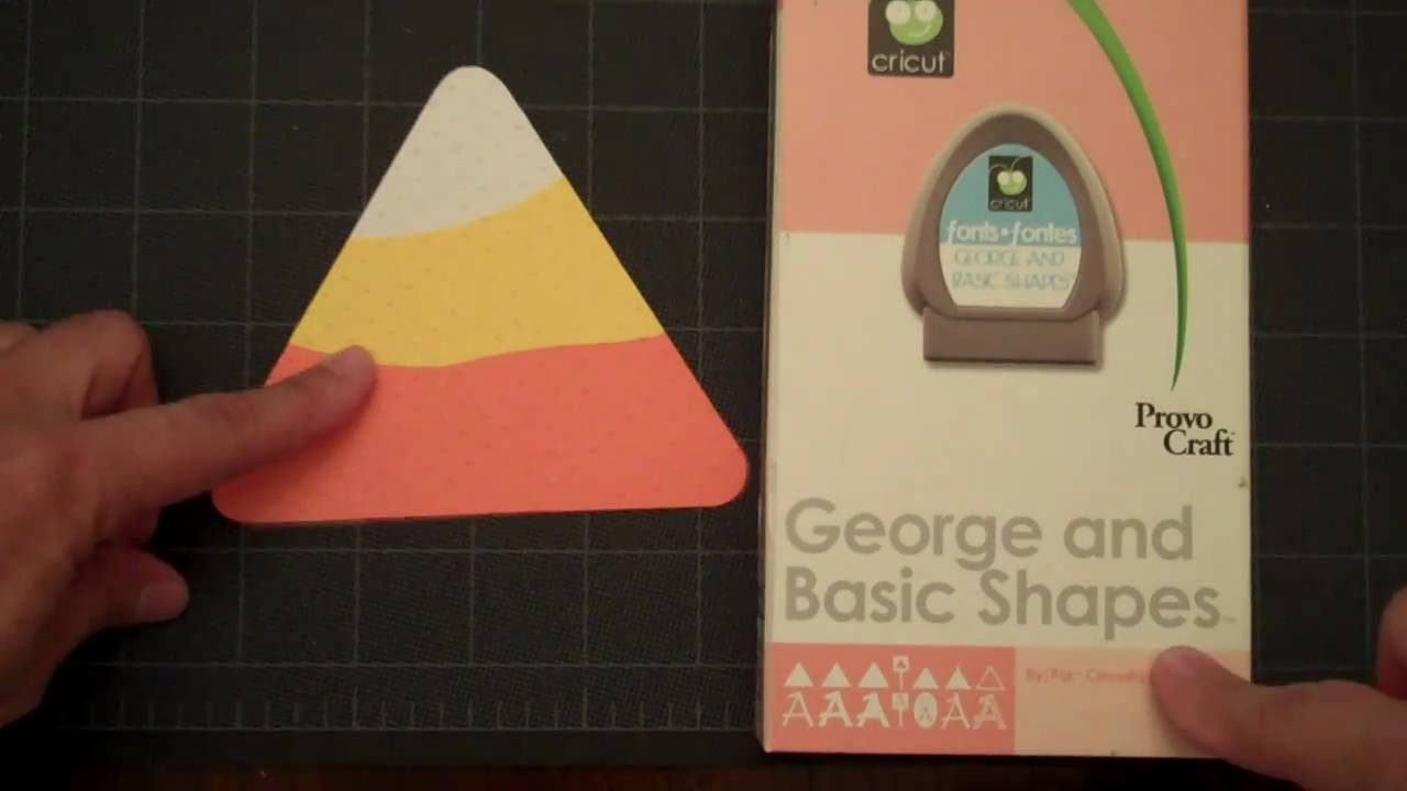 Cricut Card Making Ideas Youtube Part - 41: Making Candy Corn With George And Basic Shapes