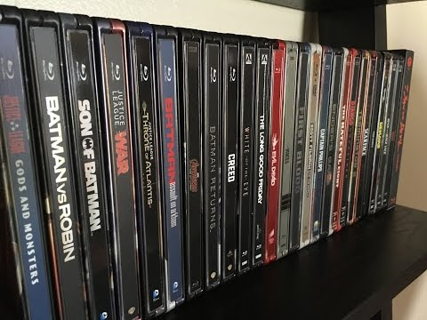 My Blu-Ray Steelbook Collection