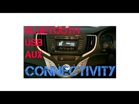 BALENO MUSIC SYSTEM (in hindi) expained.