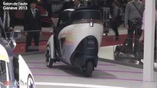 Toyota i-Road : Salon de l'auto Genève 2013