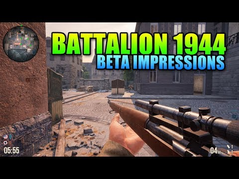 Battalion 1944 Beta Impressions  A Classic Competitive FPS