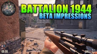 Battalion 1944 Beta Impressions - A Classic Competitive FPS