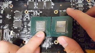 Ремонт видеокарты GTX 1070 после неправильного подключения райзера