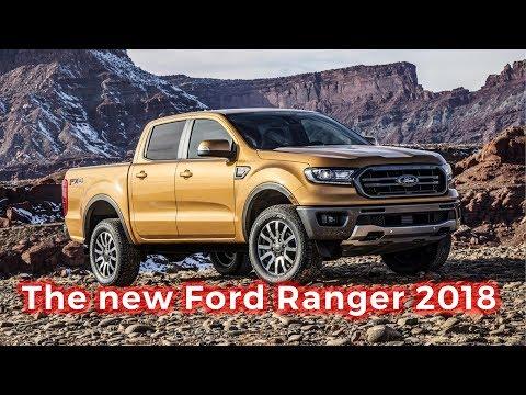 The new Ford Ranger 2018