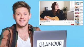 Niall Horan Watches Fan Covers on YouTube | Glamour