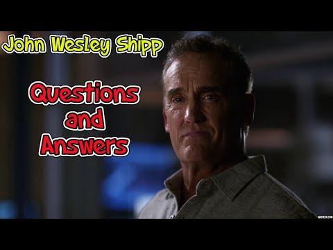 John Wesley Shipp The Flash Q&A  Corpus Christi ComicCon 2017