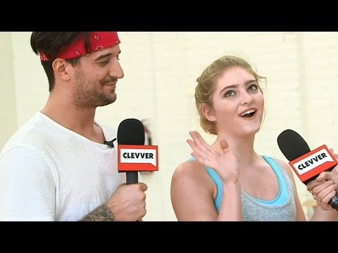 Willow Shields & Mark Ballas Play DWTS
