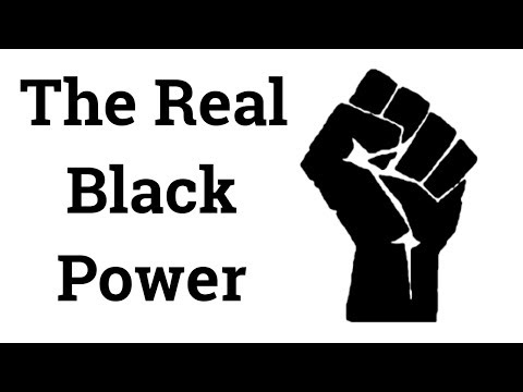 The Real Black Power Is Mind Power