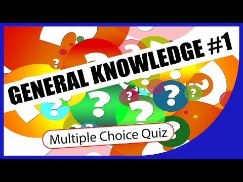 Q★ | General Knowledge #1 | MULTIPLE CHOICE QUIZ | Q-Star Quiz Channel