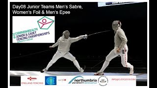 Day08 Commonwealth Junior & Cadet Fencing Championships 2018 - Finals