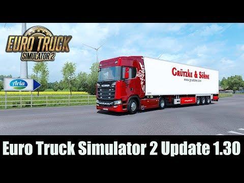 ✅ Euro Truck Simulator 2 Update 1.30 / Realistic Lighting JBX
