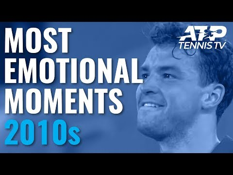 Most Emotional ATP Moments In The 2010s Decade