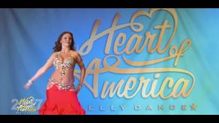 Lidia Pleiada - 2017 Queen Heart of America Belly Dance Festival