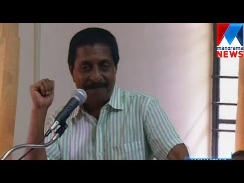 Actor Sreenivasan against Political Assassinations  | Manorama News