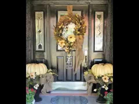front door decorating ideas - youtube