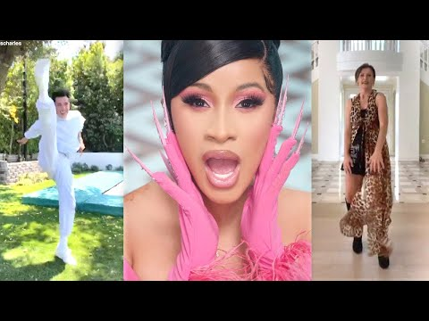 Cardi B REACTS to James Charles and Addison Rae's Mom's 'WAP' TikTok Dance Challenge