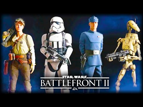 Star Wars Battlefront 2 - CONFIRMED HEROES, CLASSES, CUSTOMISATION, VEHICLES, MAPS and MORE!