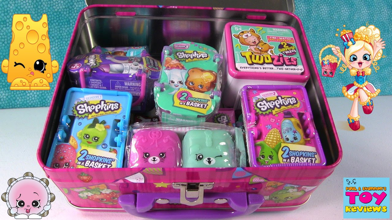 Shopkins Surprise Lunchbox Twozies Grossery Gang Blind Bag